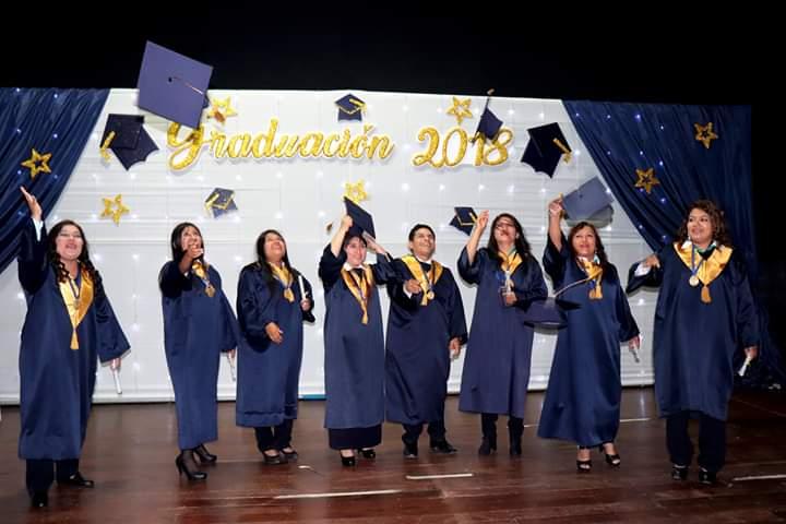Graduación de alumnos 2018